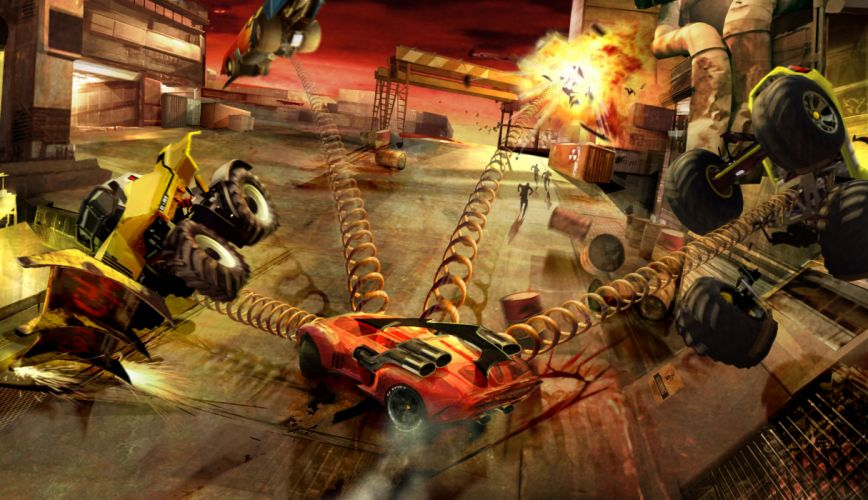 Carmageddon Reincarnation game auto hot rod rods h wallpaper
