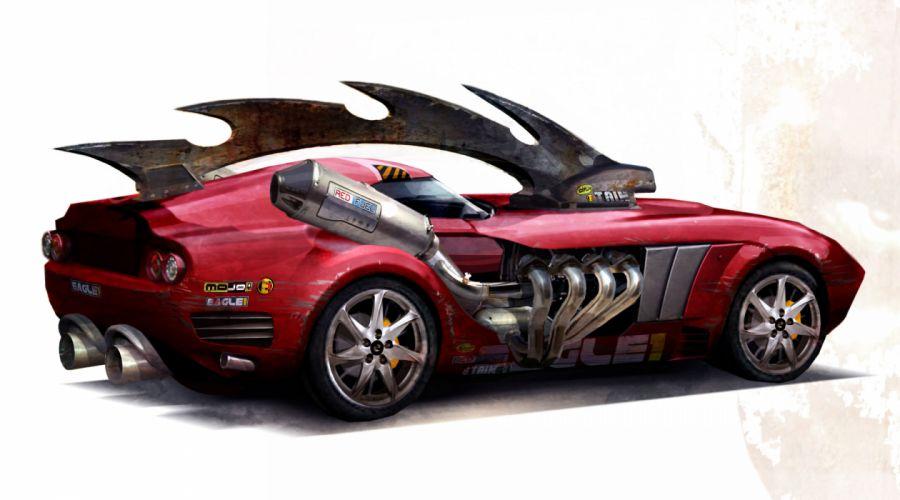 Carmageddon Reincarnation game auto hot rod rods supercar g wallpaper