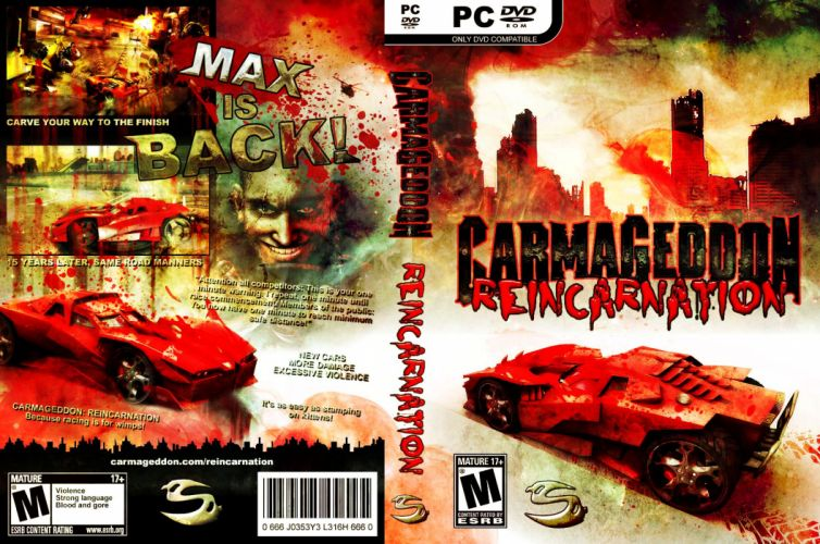 Carmageddon Reincarnation game poster g wallpaper