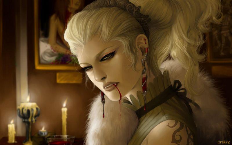 WORLD OF DARKNESS game fantasy dark vampire t wallpaper