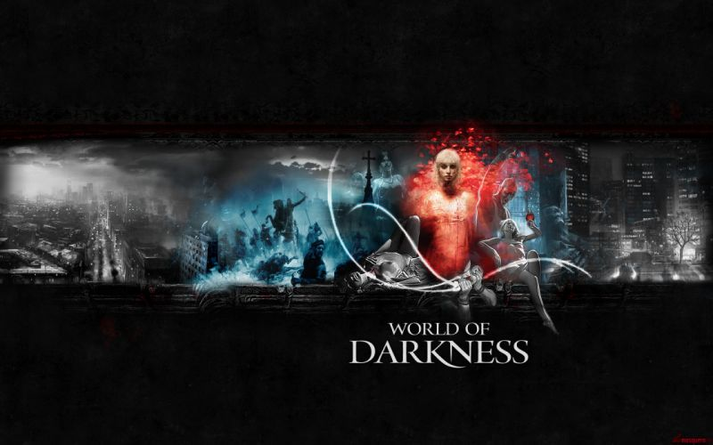 WORLD OF DARKNESS game fantasy dark vampire h wallpaper
