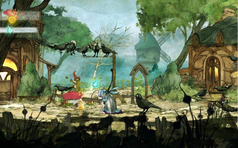 CHILD OF LIGHT fantasy game g wallpaper