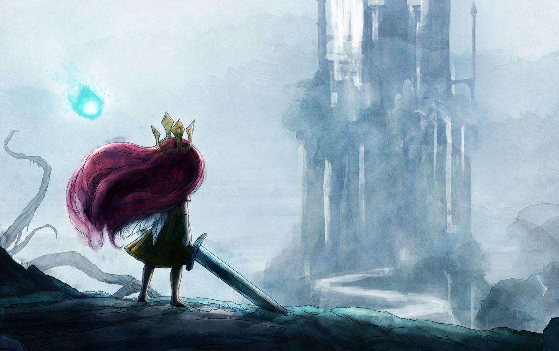 CHILD OF LIGHT fantasy game     t wallpaper