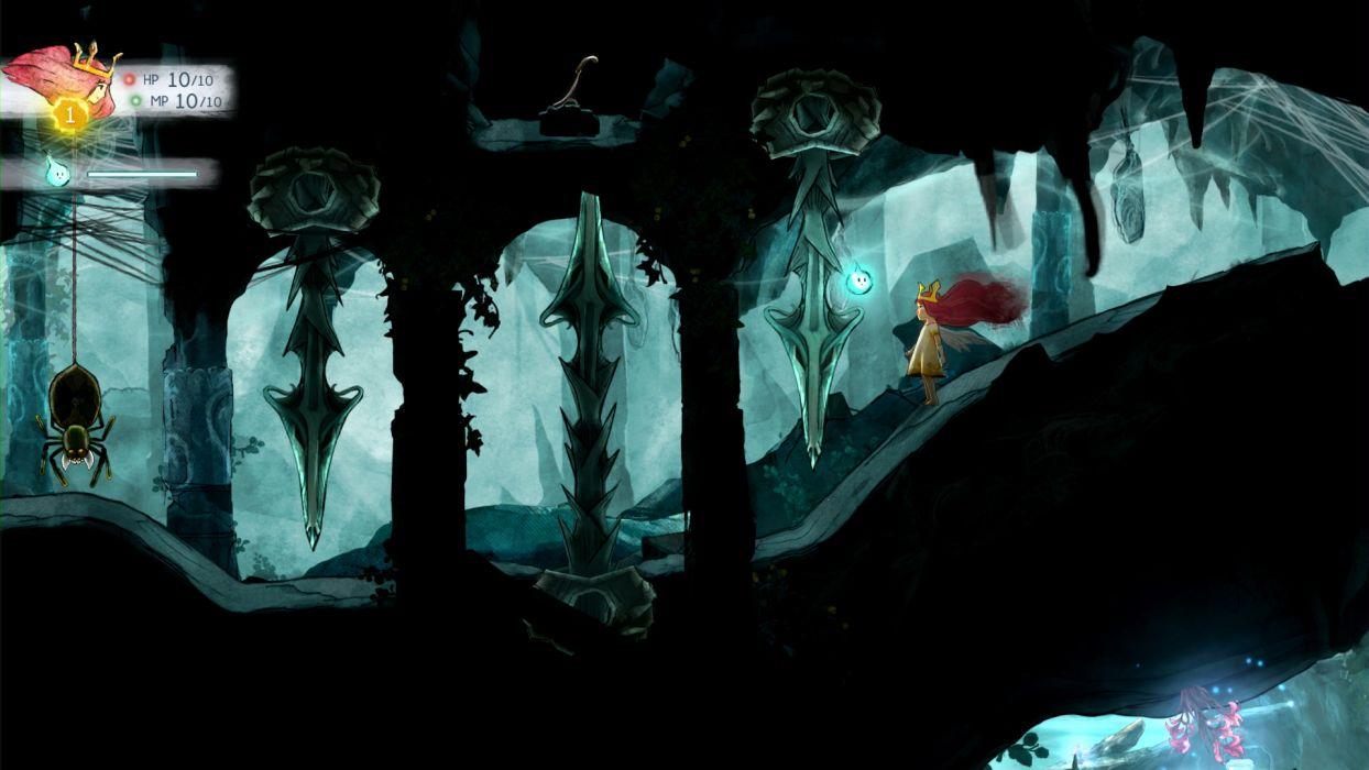 CHILD OF LIGHT fantasy game    f wallpaper