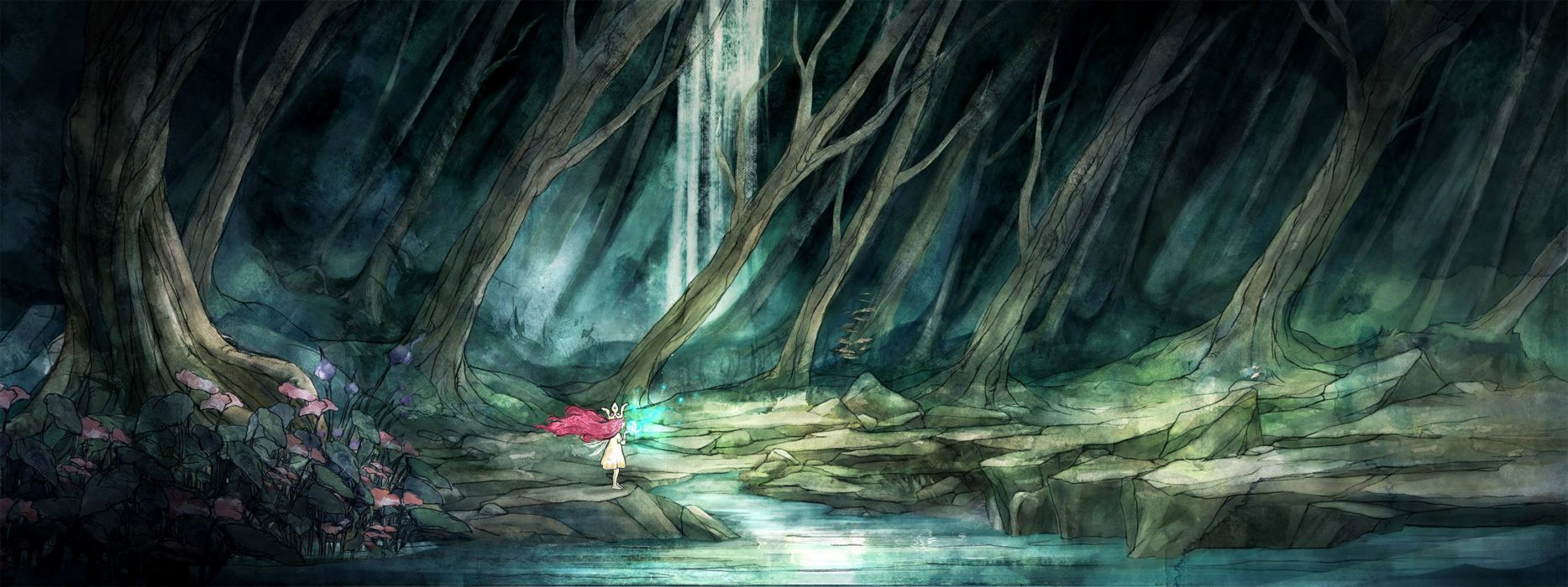 CHILD OF LIGHT fantasy game  h wallpaper