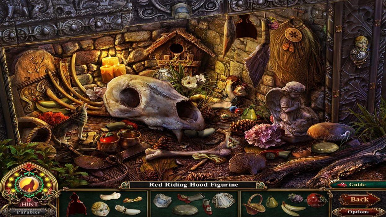 DARK PARABLES fantasy game skull     h wallpaper