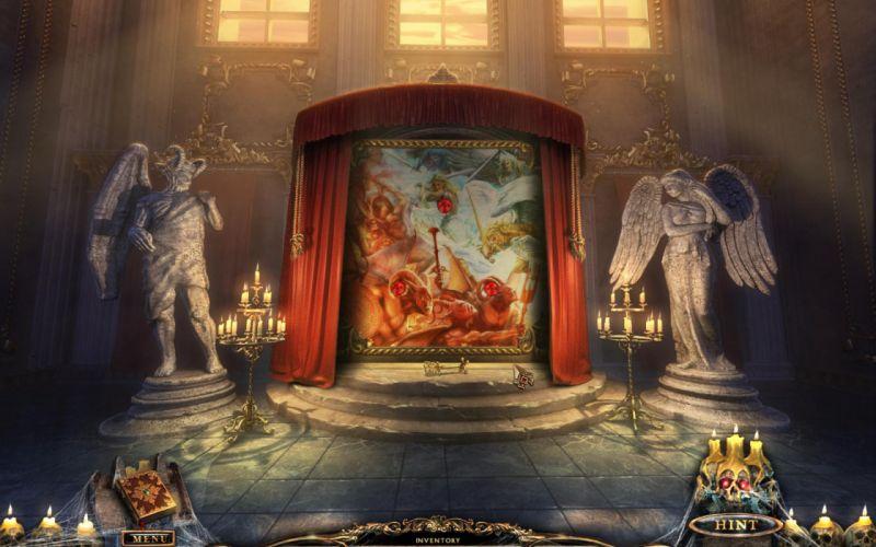 PORTAL OF EVIL STOLEN RUNES fantasy dark game t wallpaper