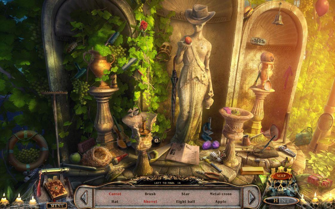 PORTAL OF EVIL STOLEN RUNES fantasy dark game   h wallpaper