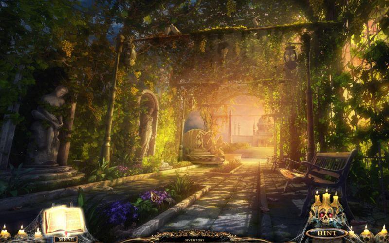 PORTAL OF EVIL STOLEN RUNES fantasy dark game rk wallpaper