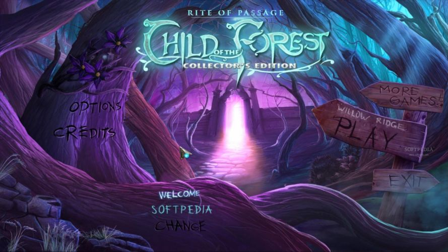 Rite of Passage Child of the Forest fantasy game dq wallpaper