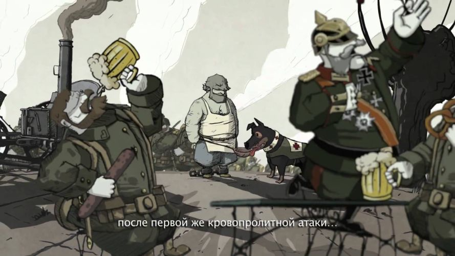 Valiant Hearts The Great War u wallpaper