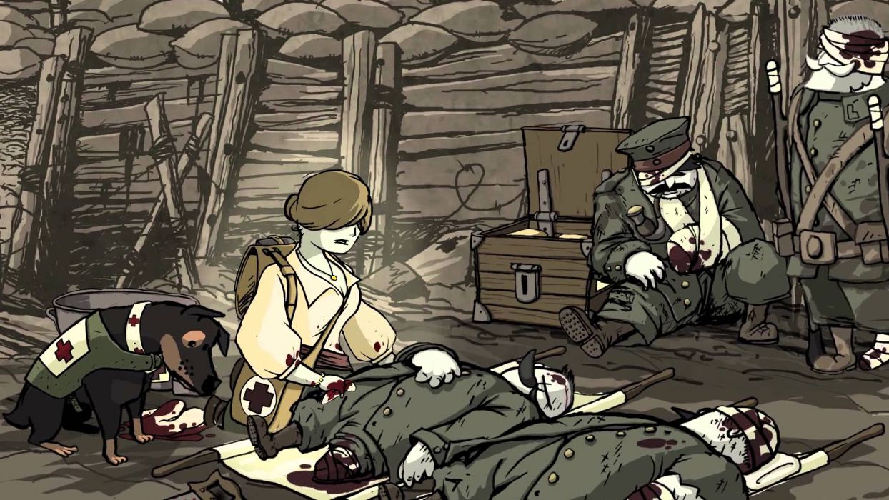 Valiant Hearts The Great War    g wallpaper