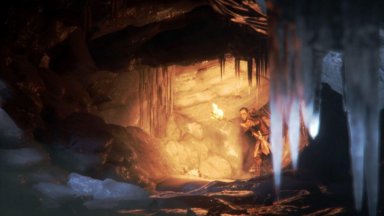 DEEP DOWN fantasy game warrior     f wallpaper