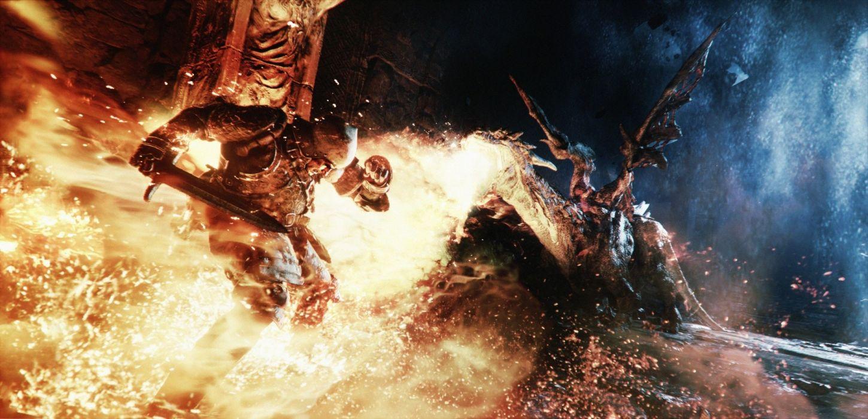 DEEP DOWN fantasy game warrior battle monster      g wallpaper