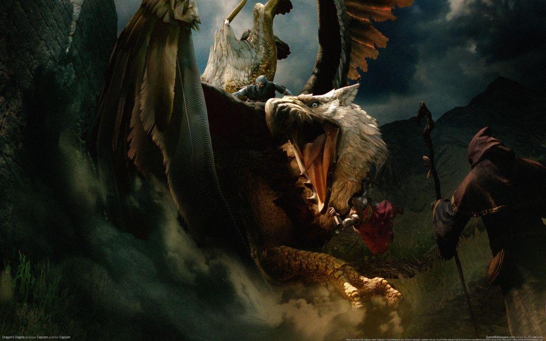 DRAGONS DOGMA fantasy game   t wallpaper