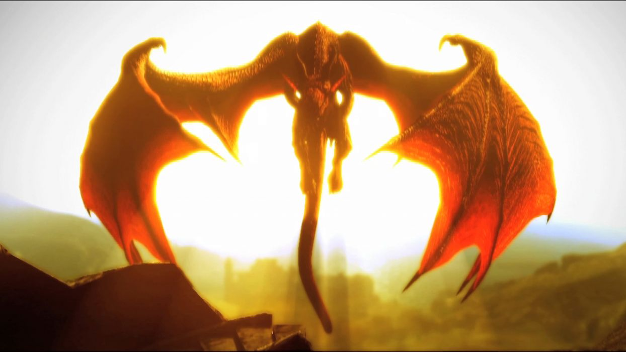 DRAGONS DOGMA Fantasy Game Dragon U Wallpaper