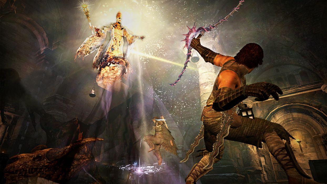 DRAGONS DOGMA Fantasy Game Warrior Y Wallpaper