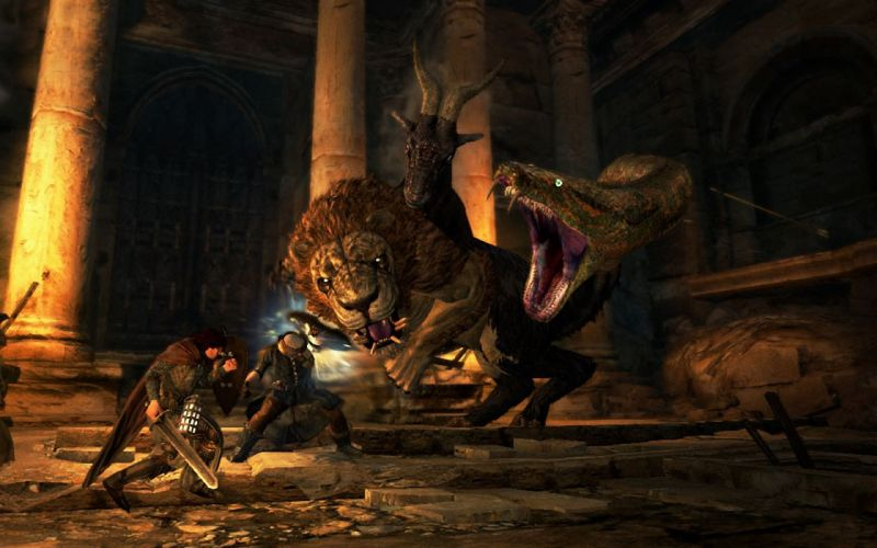 DRAGONS DOGMA fantasy game warrior battle t wallpaper