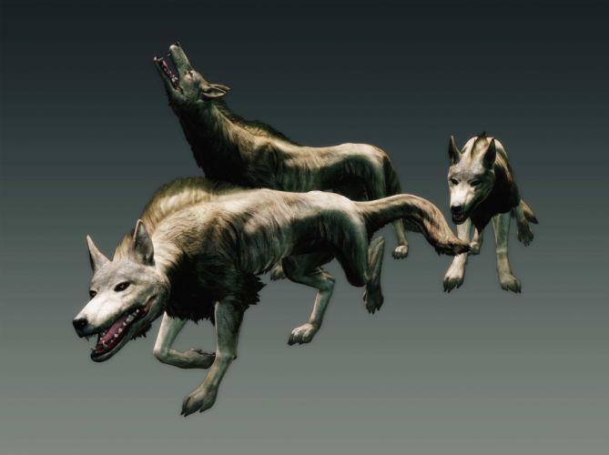 DRAGONS DOGMA fantasy game wolf g wallpaper