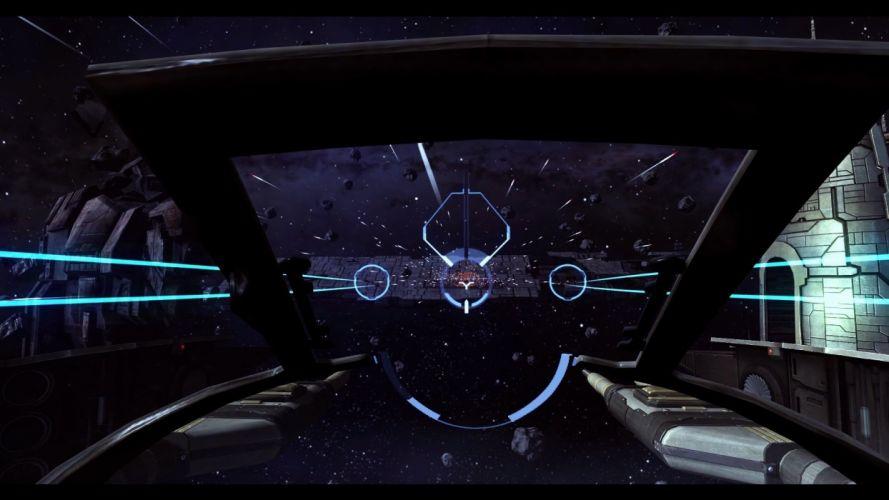 EVE Valkyrie sci-fi game spaceship l wallpaper
