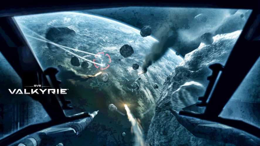 EVE Valkyrie sci-fi game spaceship t wallpaper