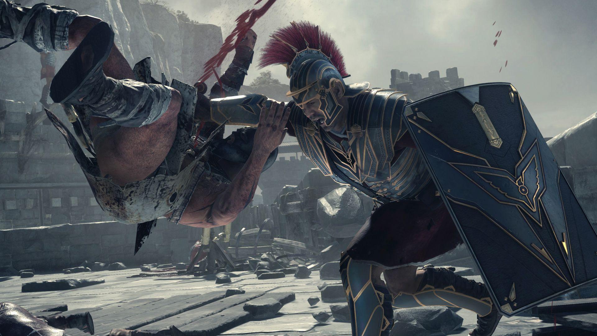 Ryse Son Of Rome Fantasy Roman Game Warrior Armor Battle F