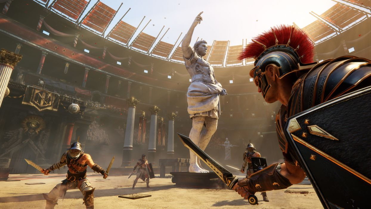 Ryse Son of Rome fantasy roman game warrior armor battle   g wallpaper