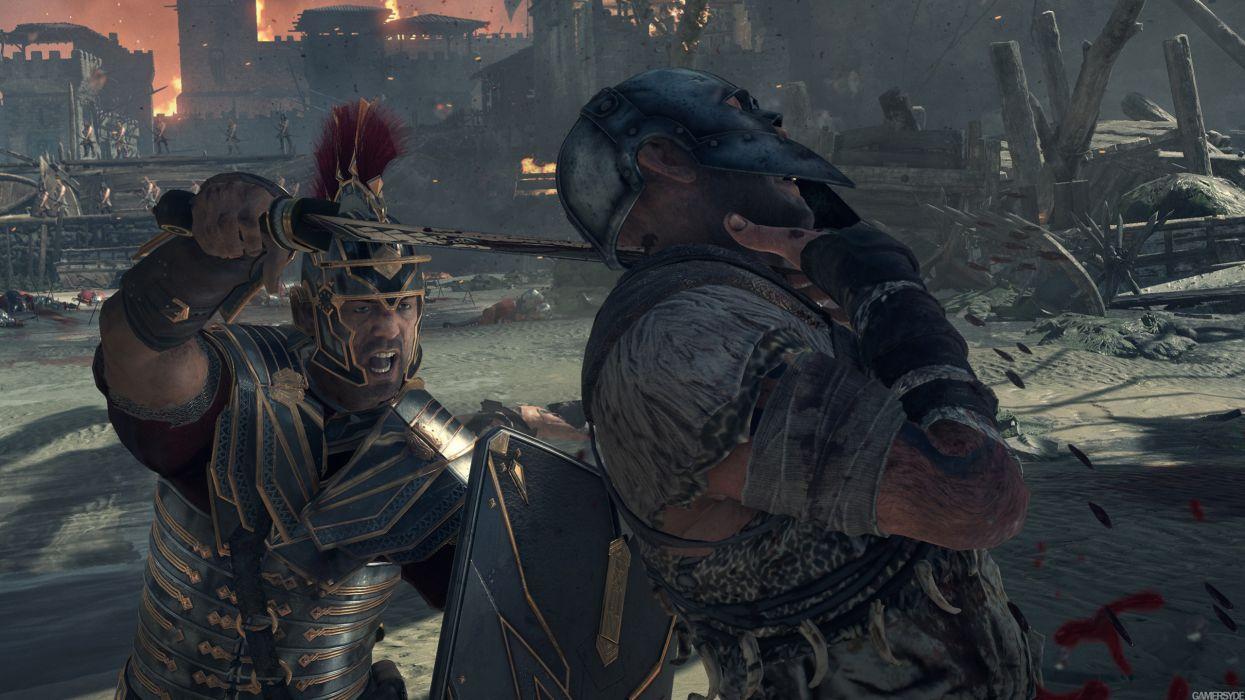 Ryse Son of Rome fantasy roman game warrior armor battle  t wallpaper
