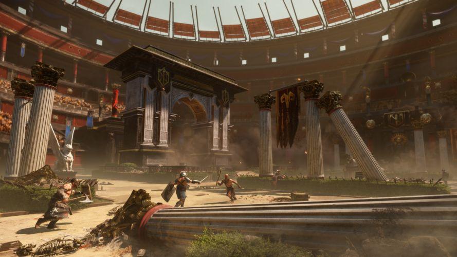 Ryse Son of Rome fantasy roman game warrior armor battle tj wallpaper