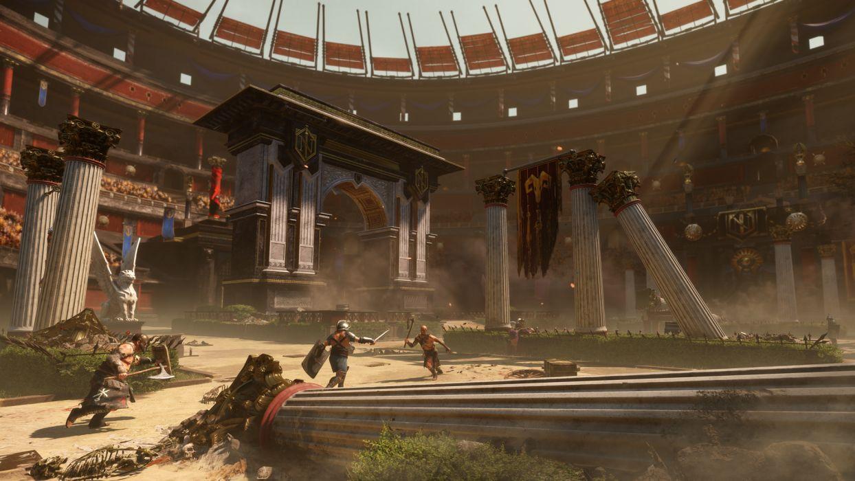 Ryse Son Of Rome Fantasy Roman Game Warrior Armor Battle Tj