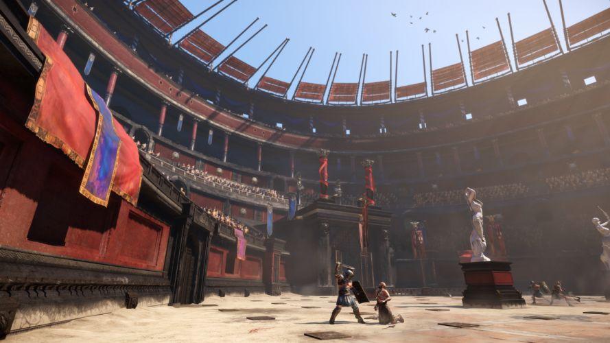 Ryse Son of Rome fantasy roman game warrior armor battle tw wallpaper