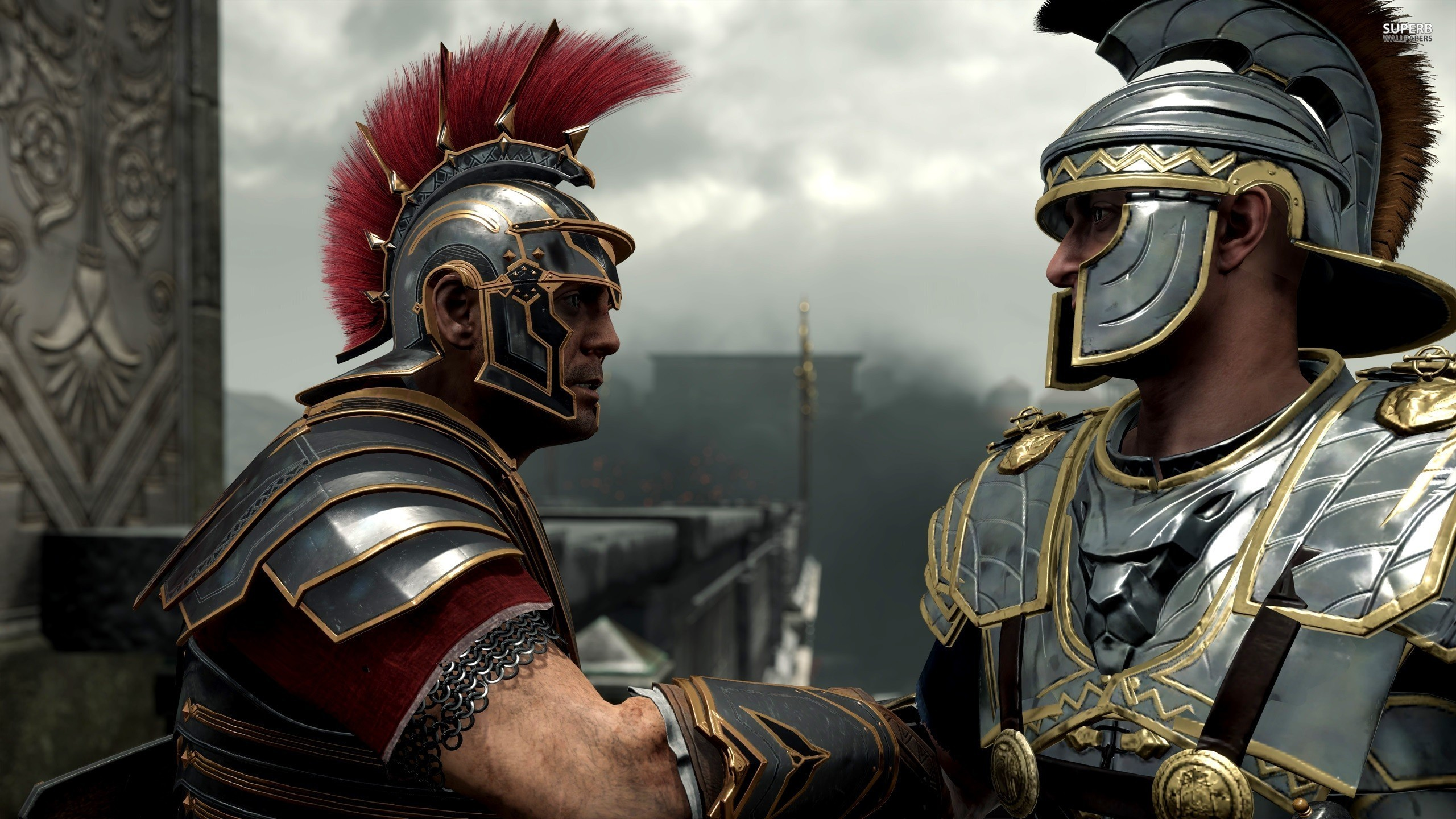 Ryse Son Of Rome Fantasy Roman Game Warrior Armor N Wallpaper