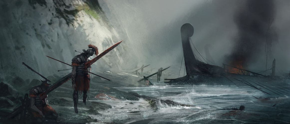 Ryse Son of Rome fantasy roman game warrior armor battle blood j wallpaper