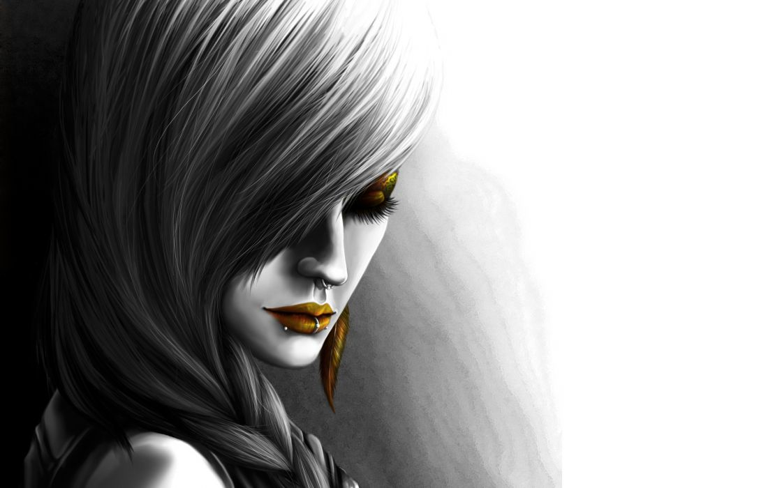 GOTHIC goth style goth-loli loli women girl mood  r wallpaper