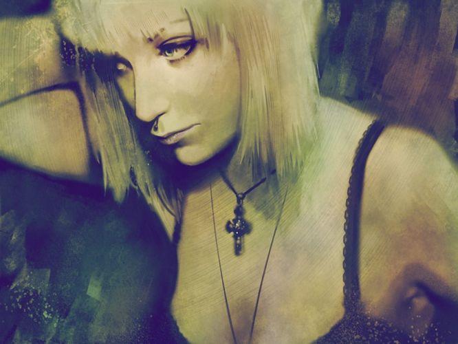 GOTHIC goth style goth-loli women girl h wallpaper