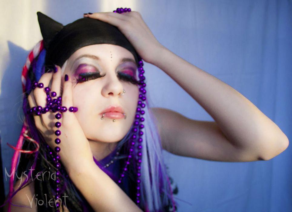 GOTHIC goth style goth-loli women girl f wallpaper
