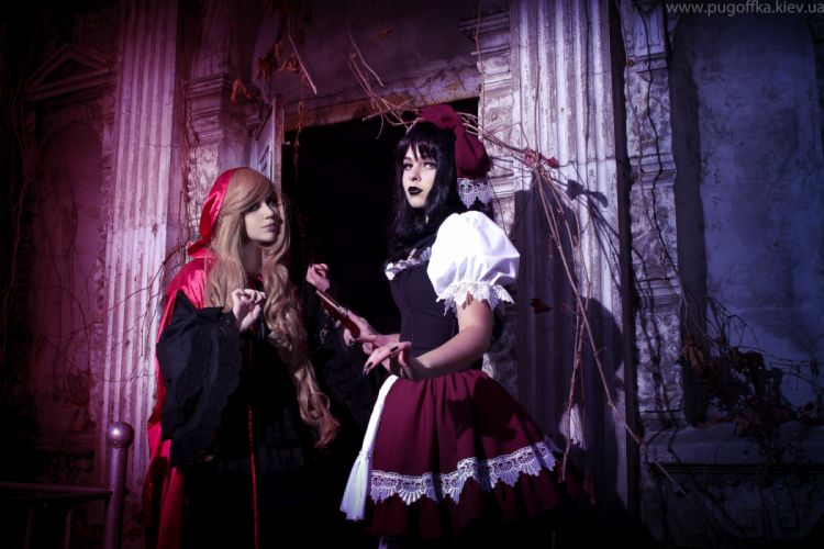 GOTHIC goth style goth-loli women girl dark g wallpaper