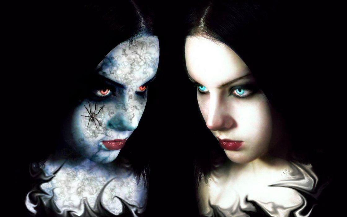 GOTHIC goth style goth-loli women girl dark h wallpaper