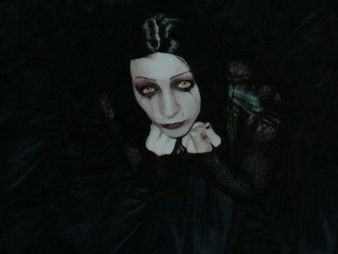 GOTHIC goth style goth-loli women girl dark vampire t wallpaper