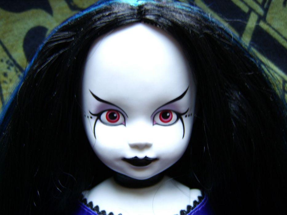 GOTHIC goth style goth-loli women girl doll toys dolls     f wallpaper