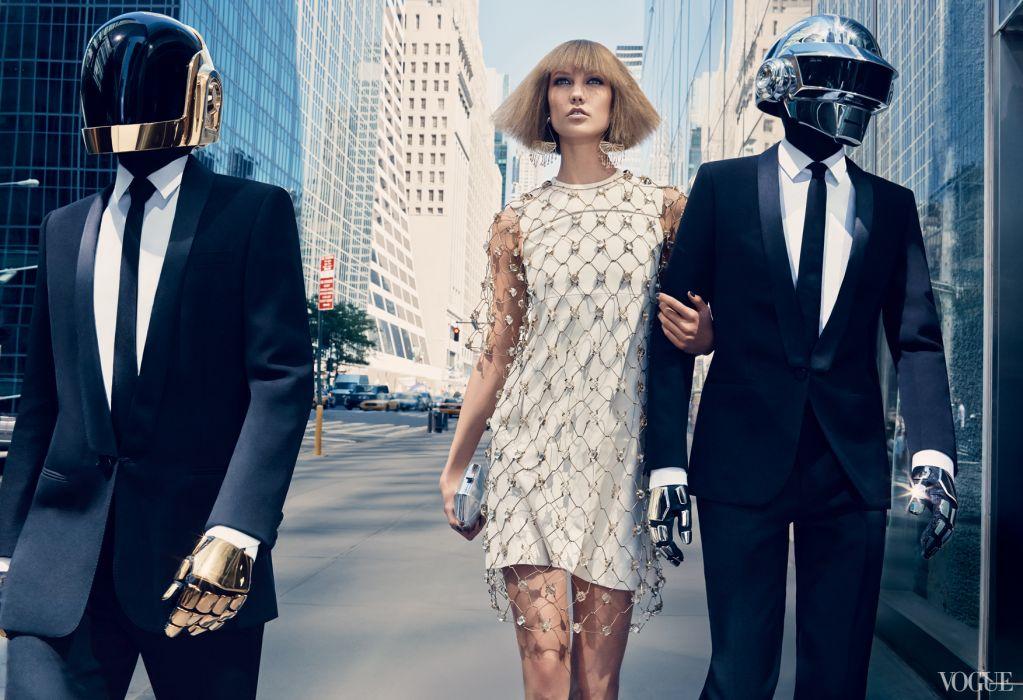 Daft Punk Karlie Kloss dubstep dub electro model girl   r wallpaper