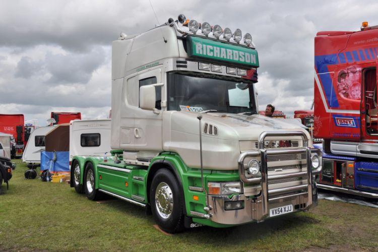 James Richardson Transport Scania T wallpaper