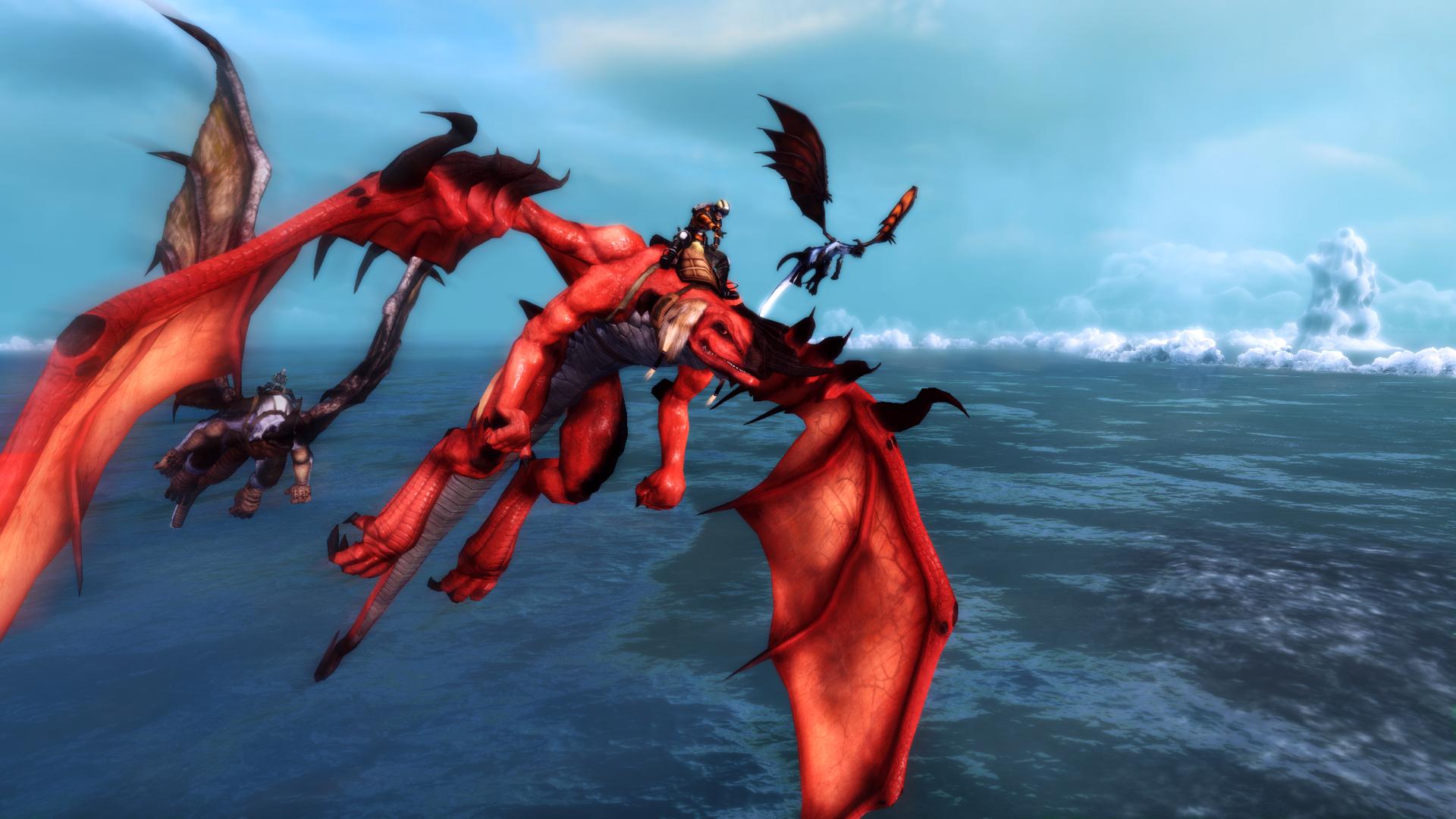 crimson dragon wallpaper - photo #6