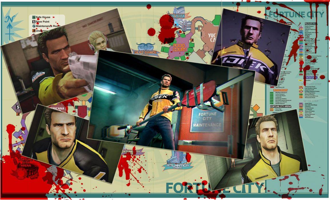 DEAD RISING dark game  fs wallpaper