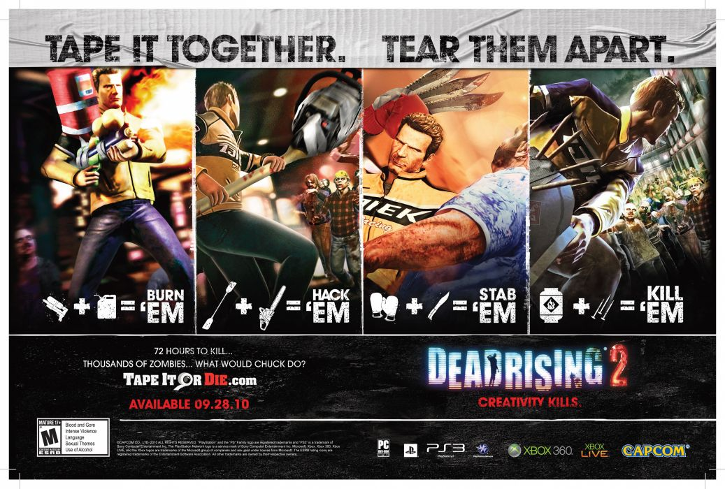 DEAD RISING dark game poster  t wallpaper