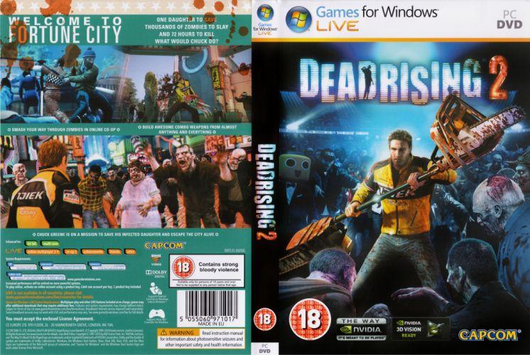 DEAD RISING dark game poster y wallpaper