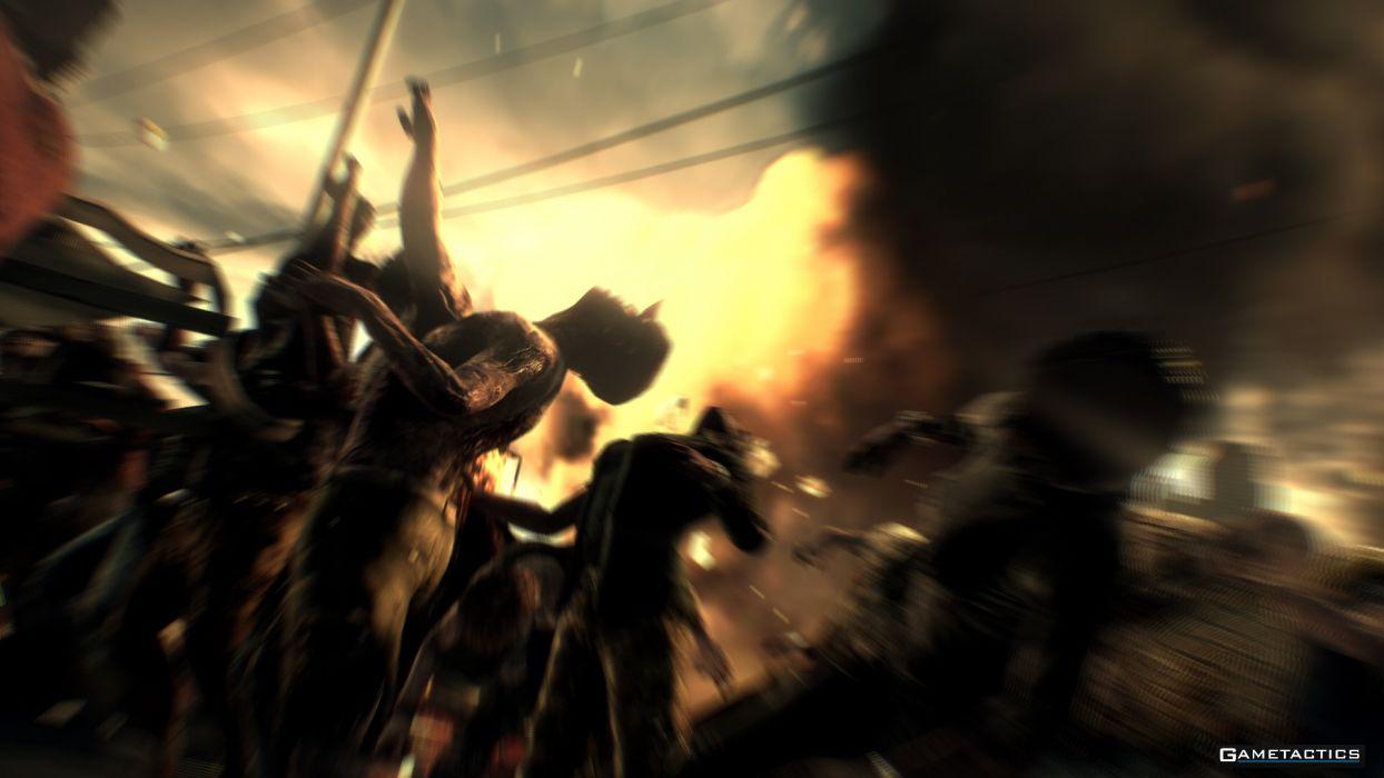 DEAD RISING dark game zombie      gs wallpaper
