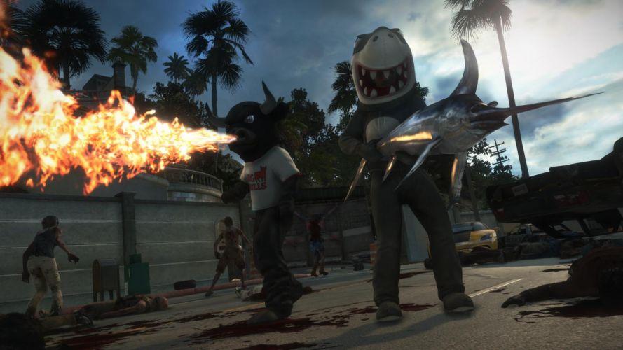 DEAD RISING dark game zombie t wallpaper