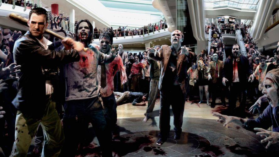 DEAD RISING dark game zombie fa wallpaper