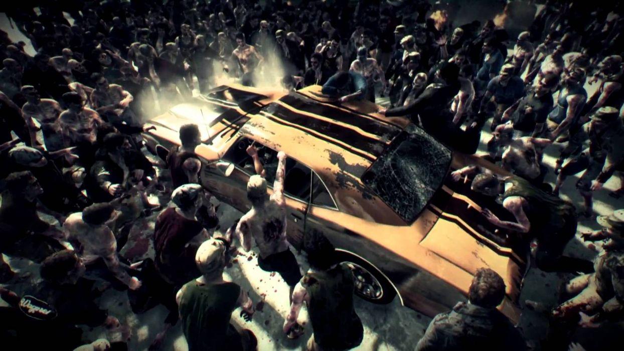 DEAD RISING dark game zombie    gw wallpaper